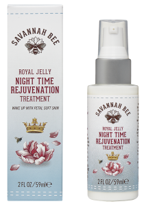 royal jelly night time rejuvenation treatment